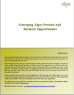 Emerging Algae Product and Business Opportunitie