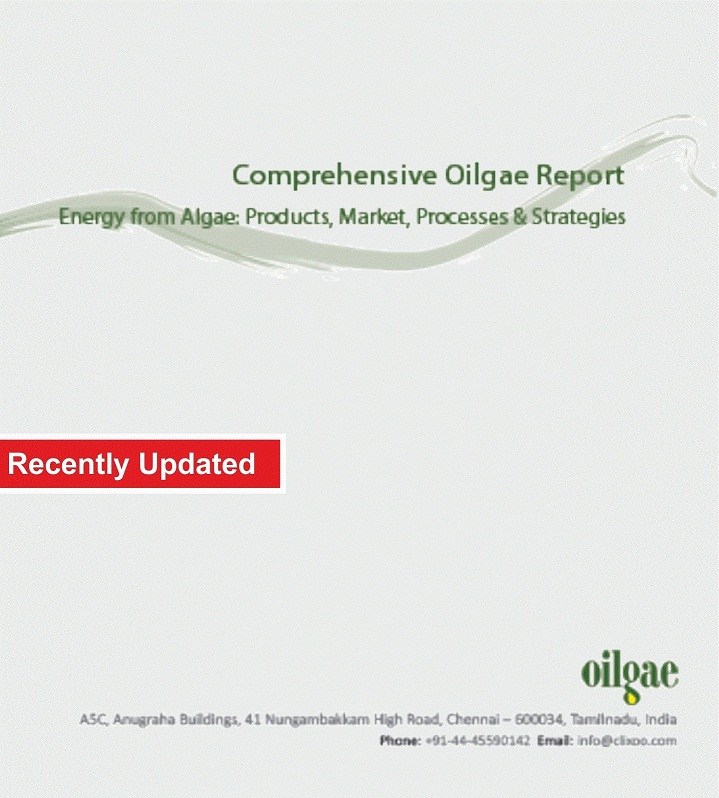 Comprehensive Algae Fuels Report